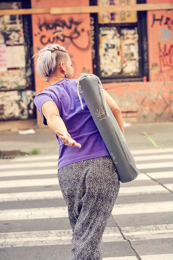 Eco friendly YOGA MAT BAG for standard yoga mat by zoomarketnu