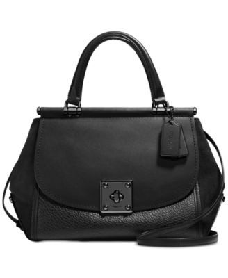COACH Drifter Carryall in Mixed Leather | macys.com