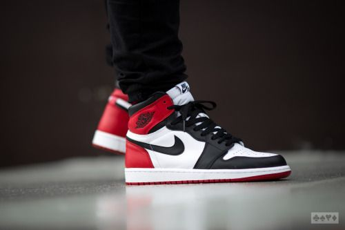 http://SneakersCartel.com Nike Air Jordan 1 Retro High OG 'Black Toe' #sneakers #shoes #kicks #jordan #lebron #nba #nike #adidas #reebok #airjordan #sneakerhead #fashion #sneakerscartel http://www.sneakerscartel.com/nike-air-jordan-1-retro-high-og-black-toe/