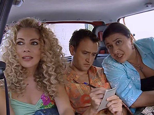 Smaragda Karydi, Elissavet Konstantinidou, and Argyris Angelou in Sto para 5 (2005)