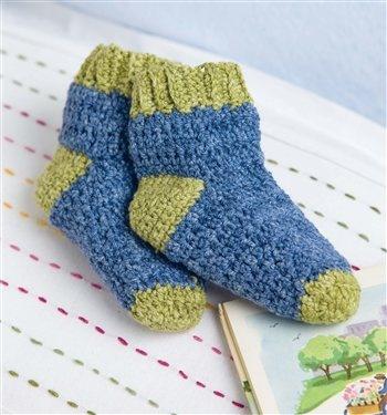 crochet toddler socks...might need someday :')