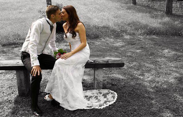 Foto från Weinö-bröllopet. Taget av mig.