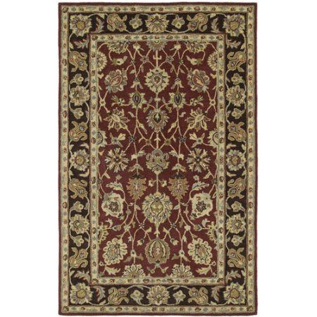 Inheritance Collection Area Rug, Multiple Colors & Sizes, Red