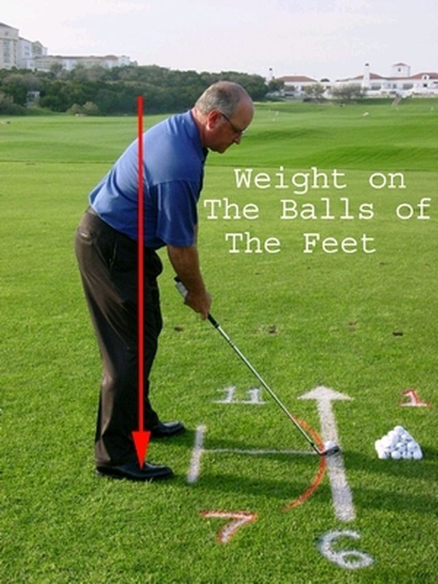 Getting a Great Golf Stance, Step-by-Step: Balance