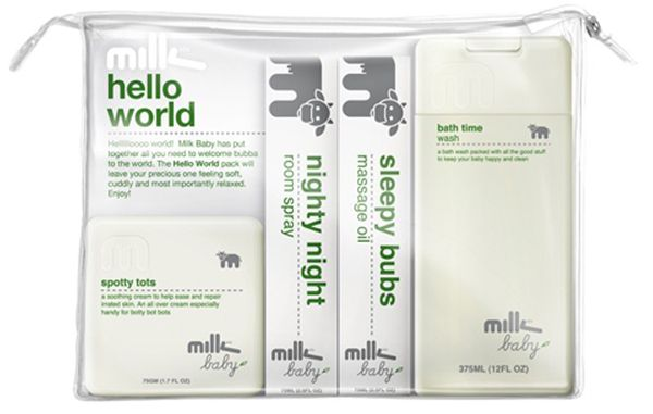 New organic skincare gift packs from Milk & Co Baby