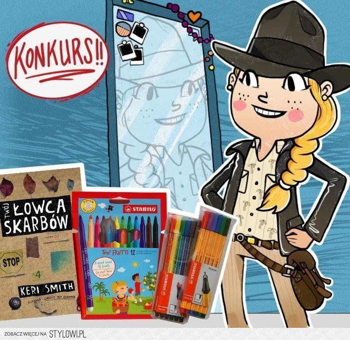 Konkurs - przebierz się za prawdziwego łowcę skarbów - do wygrania najnowsza książka Keri Smith