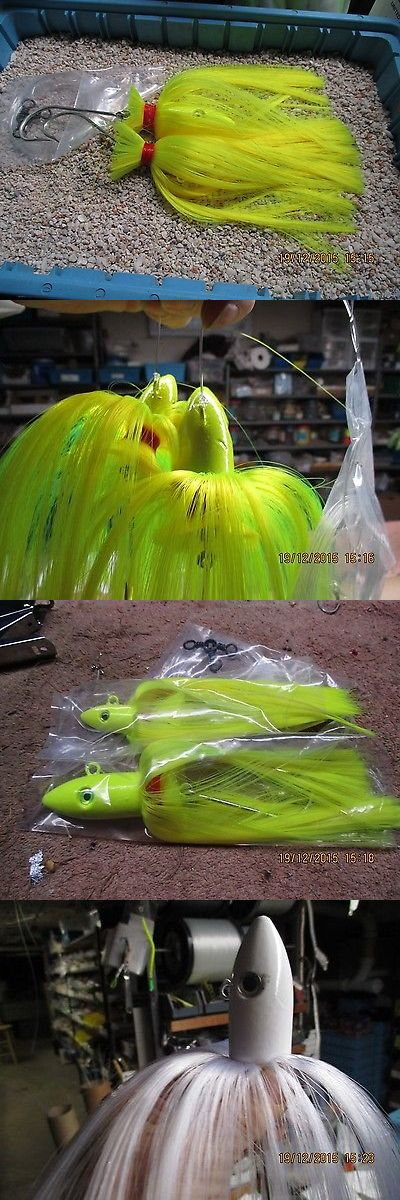 Saltwater Lures 36153: Tandem Spire Point Parachuete Rig Mo-Jos Trolling W Shads -> BUY IT NOW ONLY: $33.5 on eBay!