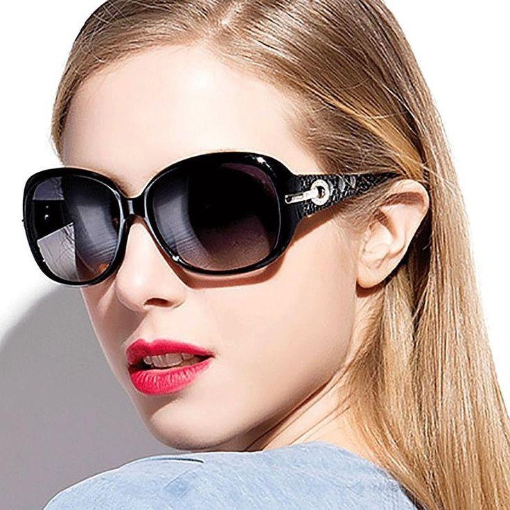 Women Luxury Designer 2017 Rhinestone Sunglasses Shades UV400