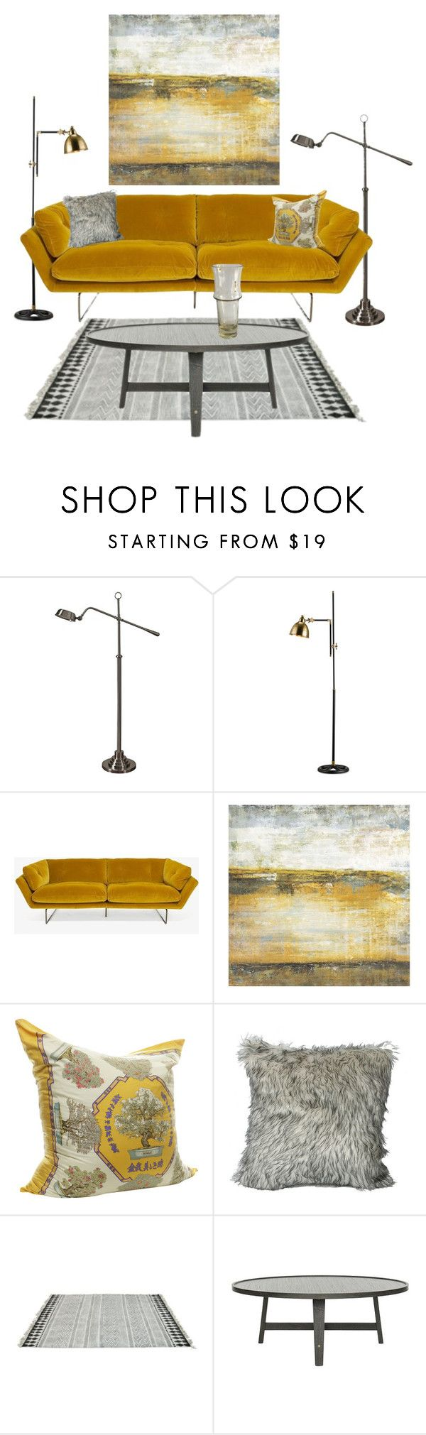 """""""modern # 3"""" by piplusc ❤ liked on Polyvore featuring interior, interiors, interior design, home, home decor, interior decorating, Saba, Grandin Road, Hermès and Ross & Brown"""