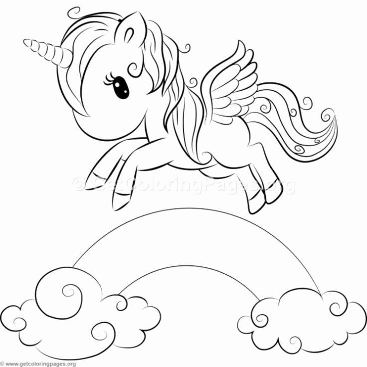 Cute Unicorn Coloring Pages Printable Unique Best 25 ...