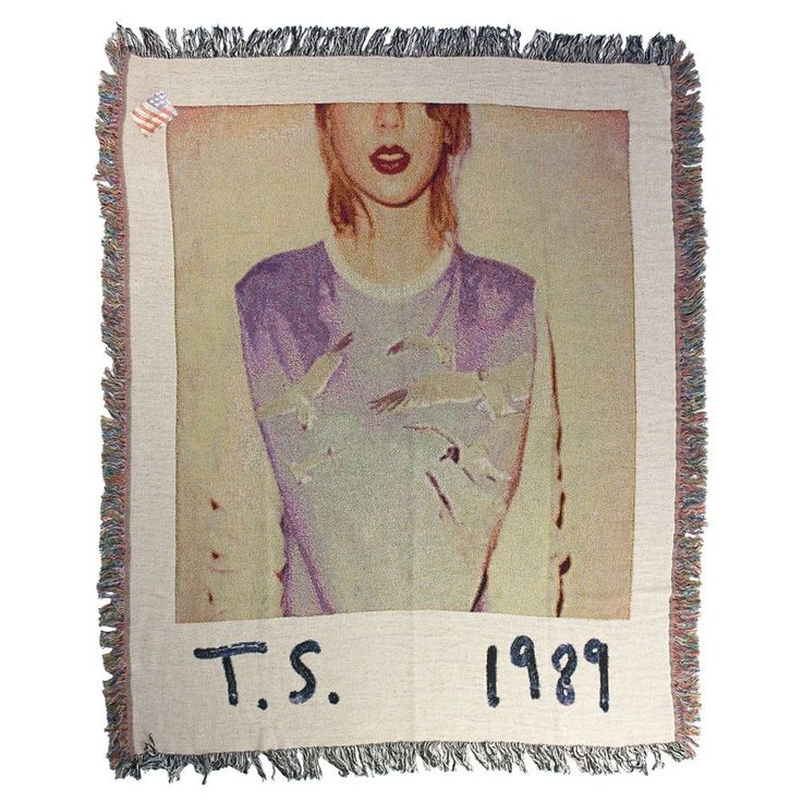Taylor Swift - 1989 Album Cover Throw Blanket,