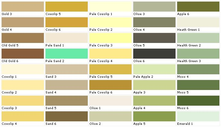 Pale Olive 2 from Laura Ashley - a good earthy, nuetral paint for the bedroom