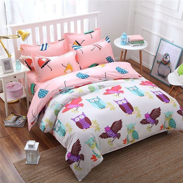 Fashion Style Queen/full/twin Size Bed Linen Set Bedding Set Sale  Bedclothes Duvet