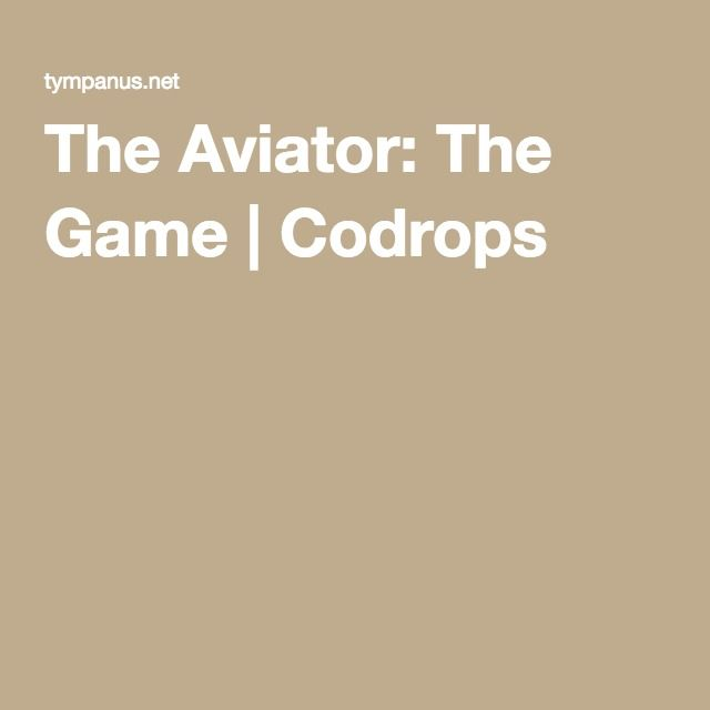 The Aviator: The Game | Codrops