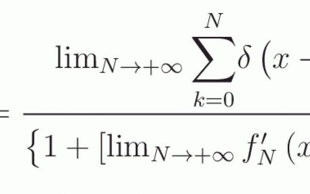 """La curva di Koch e il """"pettine di Dirac"""""""