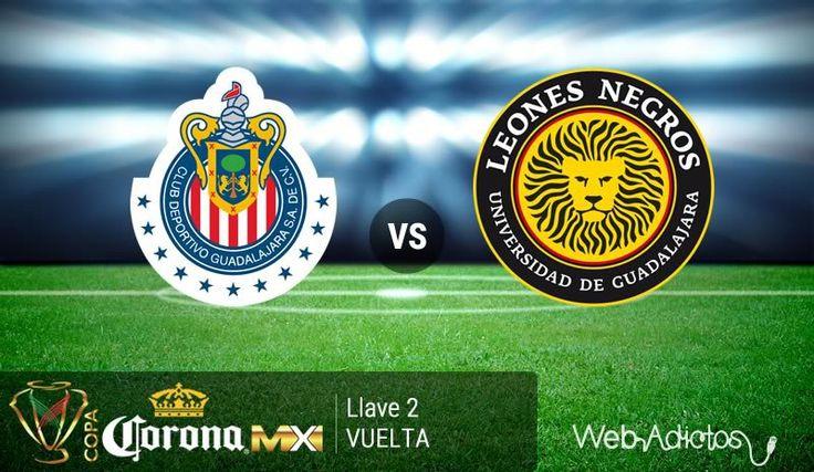Chivas vs Leones Negros UDG en la Copa MX C2016 ¡En vivo por internet! - https://webadictos.com/2016/02/17/chivas-vs-leones-negros-udg-copa-mx-c2016/?utm_source=PN&utm_medium=Pinterest&utm_campaign=PN%2Bposts