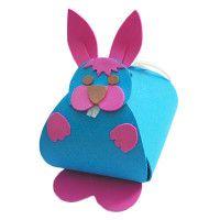 Un coniglietto portaconfetti
