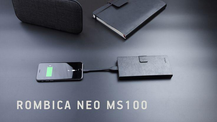 Заряд смартфона всегда заканчивается неожиданно. Но напомощь всегда готов прийти портативный аккумулятор Rombica NEO MS100. https://www.youtube.com/watch?v=lRU6DKfRUlA
