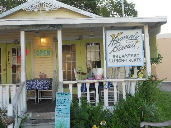 Heavenly Biscuit by Ft. Myers Beach, heard a rumor that they have the best cinnamon rolls on this planet...