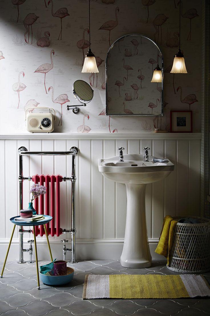 Tecaz bathroom suites - This Heritage Ryland Bathroom Uses Colour In A Fun Way For A Retro Look Accessories