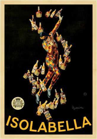 """""""Isolabella"""" - Leonetto Cappiello, 1910"""