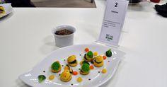 gougères aux escargots sauce meurette a l'Irancy et ses petits legumes.