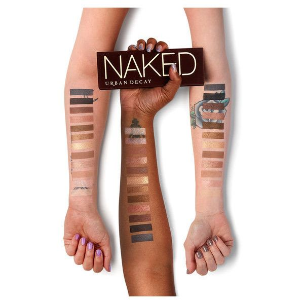 Naked Eyeshadow Palette ❤ liked on Polyvore featuring beauty products, makeup, eye makeup, eyeshadow, urban decay eye shadow, urban decay, primer eyeshadow, eye shadow brush and palette eyeshadow