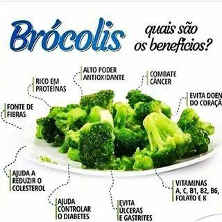 Importância de consumir brocolis