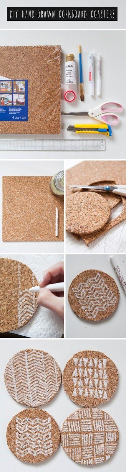 Best 25 corkboard ideas ideas on pinterest pin boards for Cork coasters for crafts