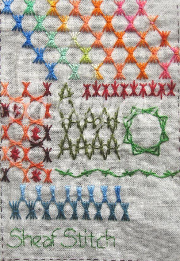 Million Little Stitches: TAST - Sheaf Stitch