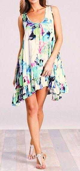 Bahama Dress in Aruba Print  $49  size med-lrg  (rrp $75)