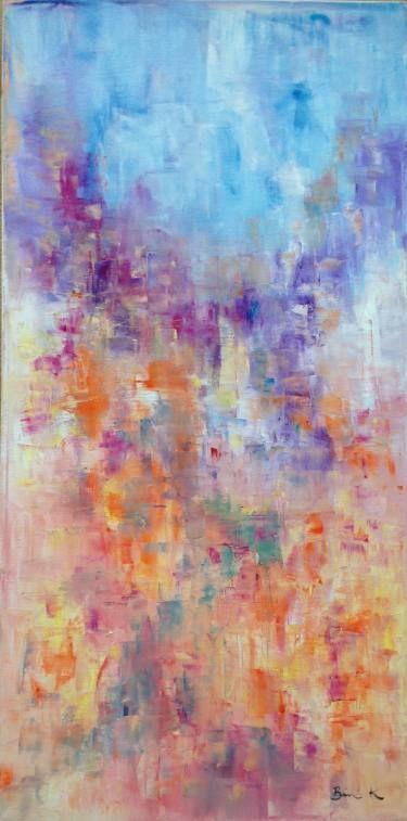 "Saatchi Art Artist Konrad Biro; Painting, ""a land of peace"" #art"