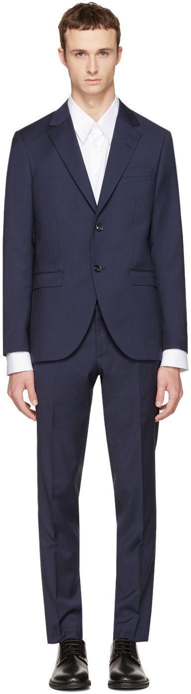 Tiger of Sweden - Navy Wool Lamonte Suit