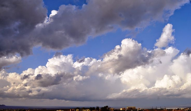 Cloudy Sky of Chania, Crete!