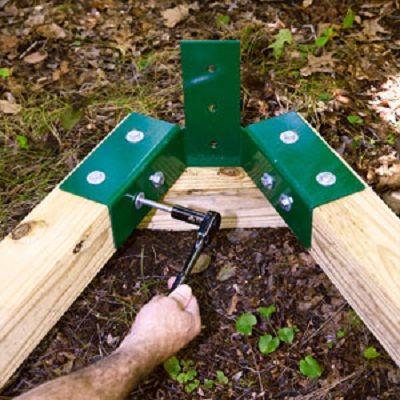 how to build nice backyard swing set