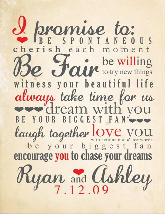 Vows wedding vows and wedding vows examples on pinterest