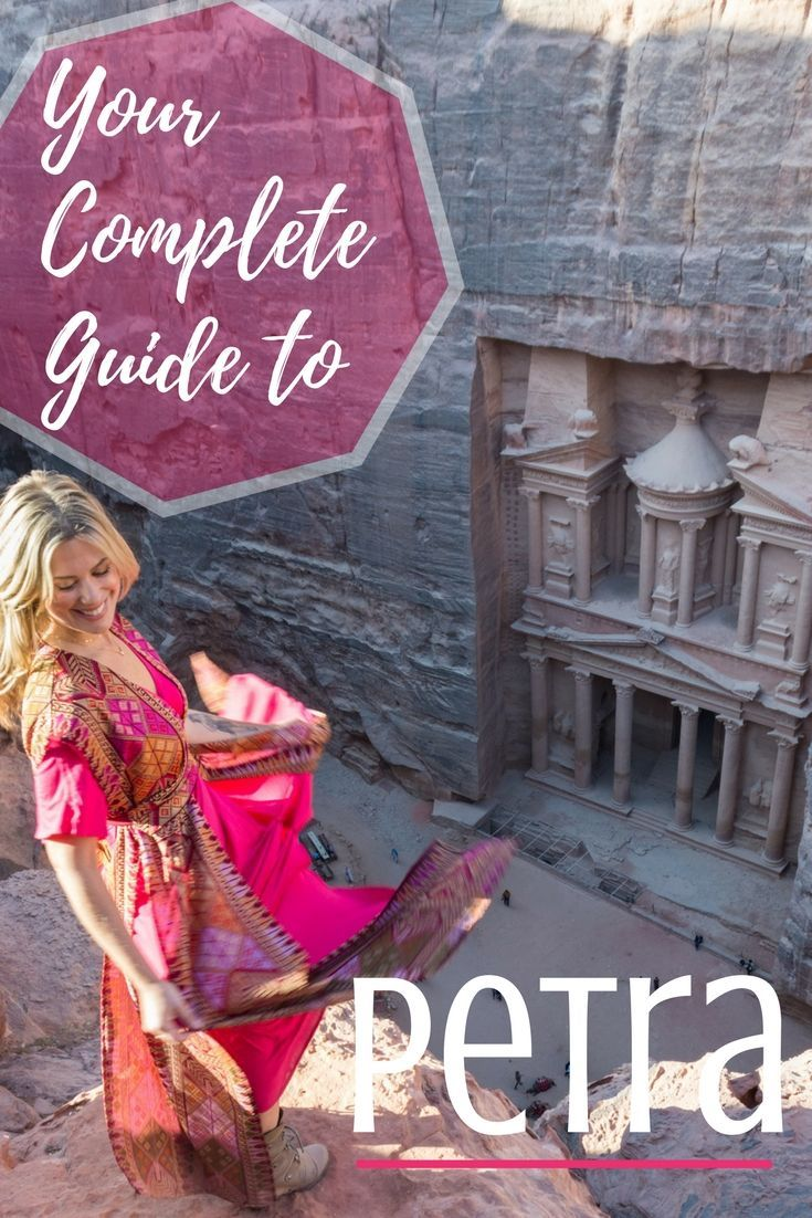 "Are you planning on visiting the beautiful country of Jordan? Read all about everything you need to know when visiting the ""Lost City of Petra"" before your trip! This is your complete and comprehensive guide! #petra #jordan #completeguidetopetra #guidetopetra #petraguide"