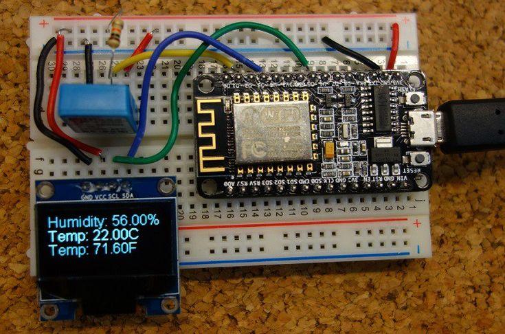 demonstration-esp8266-oled