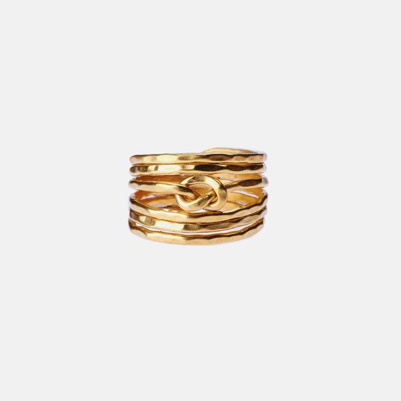 Black Betty - Knot Ring – Gold Toned- mine to own. So it is!!