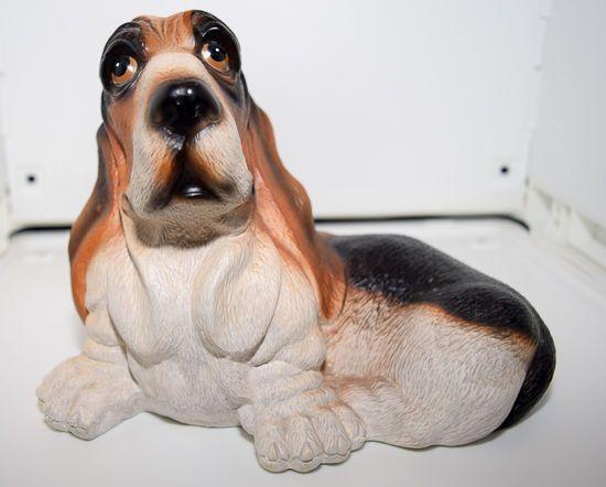 Lefton China Bank - Basset Hound Dog (07630)