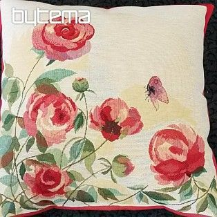 Dekorační polštář Růže