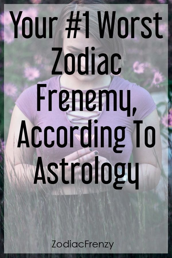 What your zodiac sign frenemy