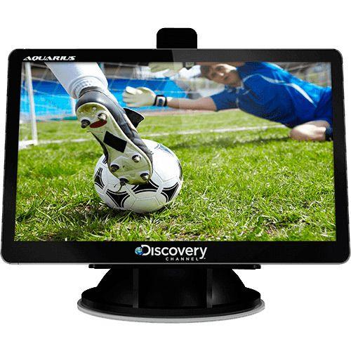 "Americanas GPS Automotivo Aquarius Discovery Channel 4.3"" Touch Screen TV Digital - R$88,20"