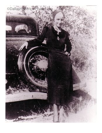 Bonnie Parker of Bonnie & Clyde - Oak Cliff (Dallas)