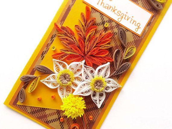 Tarjeta de acción de gracias / Thanskgiving por PaperMagicByJR