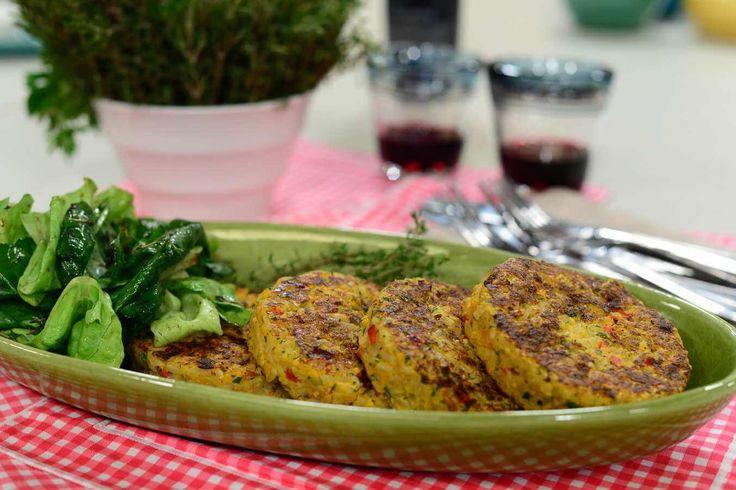 HAMBURGUESA DE ARROZ Patricia Gabriel - Cocina sin gluten