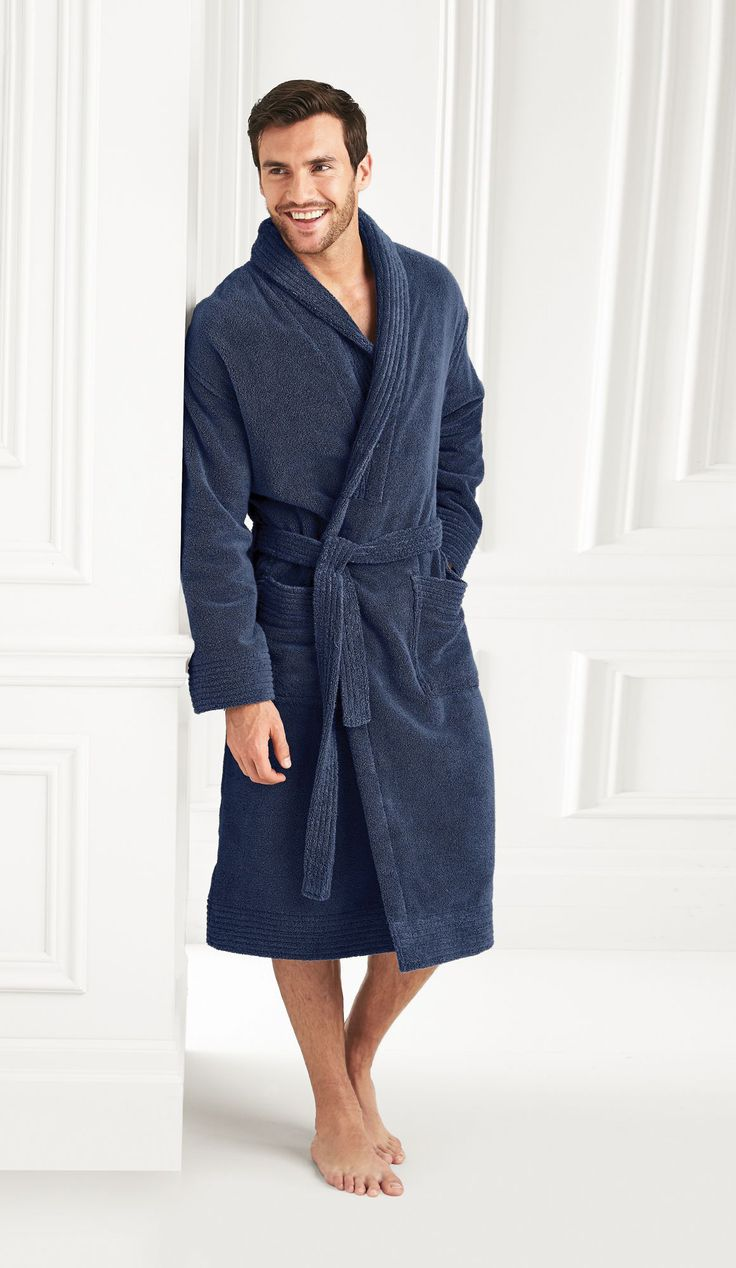 Protocol®/MD Shawl Collar Robe