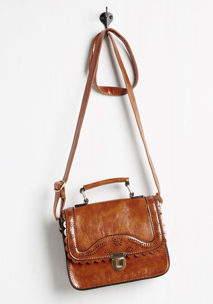 Hop the Espresso Train Bag. Not enough time to make coffee in the morning? #brown #modcloth