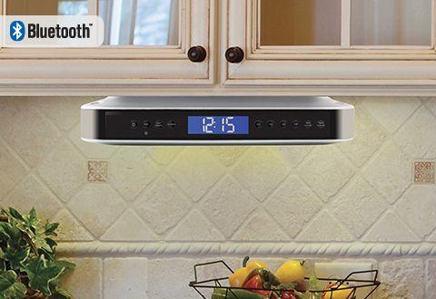 Undercabinet Bluetooth Kitchen Speaker