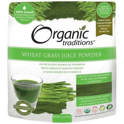 Organic Wheat Grass Juice Powder